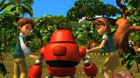superbook meet adam and eve story